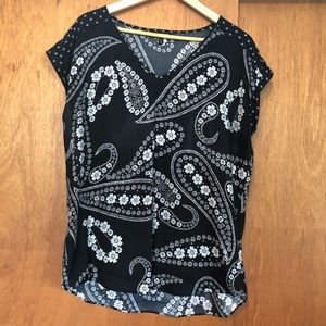 Paisley printed top from Express